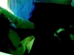 Masturbating in bus travel