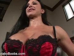 Perverted Housewife With Big Milk sacks