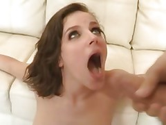 Sexual Bobbi Starr acquires a mouth full of hawt dong juice