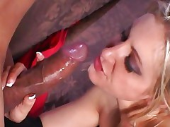 Raunchy Girl Lengthy gets saturated in hot dick juice