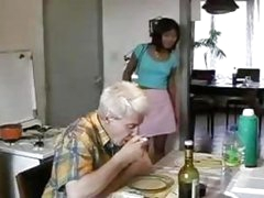 Oriental Legal age teenager Screwed By Old Dude