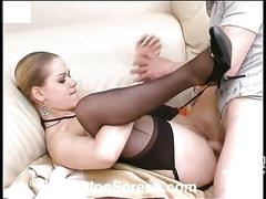 Susanna&Oscar nylon fucking act