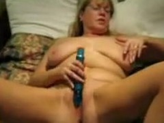 The hottest of wifes videos reveals the secret of this mature lady. She adores being hard satisfied with sex toys and indulges daily in hot masturbation session. The wench teases her pussy with a sex toy promoting its cum and cries of extraordinary orgasm.