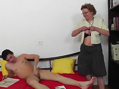 Don't be fooled by that saggy stomach and boobs. She may have a wrinkle or two but this mature is still in a good shape and can engulf shlong just like she used to in her youth. The fucking slut proves her years of experience and shows us that all the knobs she sucked made her a pro at giving blowjob.
