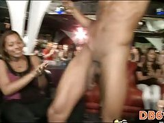 Homosexual stripper cums on sweetheart face