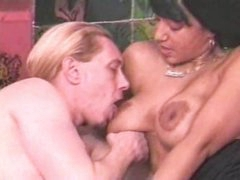 Marvelous playgirl with big tits does everything with him