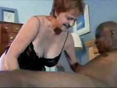 Darksome fellow and white married mature hook up