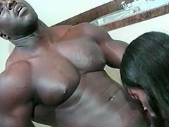 This hot black honey likes her man to be big and black. See this...