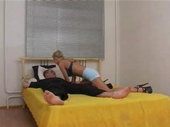 Blond Russian Screwed And Fisted