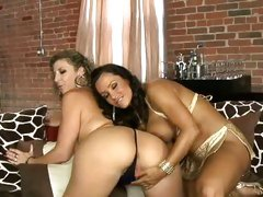 Lisa Ann And Sara Jay sexually excited and juicy lesbo totty