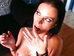 Lustful Brunette hair MILF Bailey Brooks Can't live out of Interracial Sex