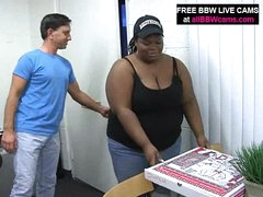 Chubby Gal Stuff Up Her Bbw Pussy Pecker Part 1
