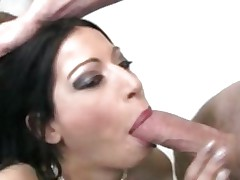 Daisy Cruz acquires takes this hard 10-Pounder down her throat