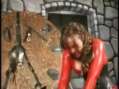 Extreme dominatrix women perverted balls punishment