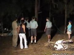 Czech Camp Counselor Makes His Fantasy Come True When This guy Hides Behind A Tree With Cute Girl Katia Kuller And Gets A Blowjob From Her Teeen Blowjob Sex