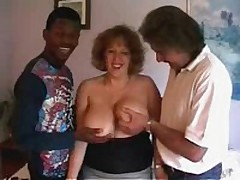 Chic crumpet with biggest soft bra buddies receives ready to satisfy even 2 rock hard dicks! That babe sucks one as well as the other rods and moves on them furiously!