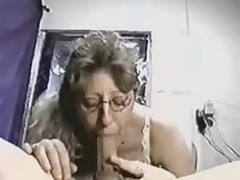Intelligent cock-sucker gives her glamorous head to her lover, who possesses indeed big and meaty instrument, which she likes so much.