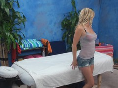 It is completely impossible to stay frustrated after witnessing sex massage scenes! Here is one of 'em and u should just take a glance at everything what sexy masseur and cute beauty are doing in it!