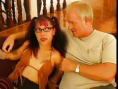 As they say big things come in small packages and this small woman is indeed packing a punch. She is just about to knock out this big guy with her charm, allure and her mouth. U can see that he is already moaning and this honey is hardly getting started with him, as this honey is giving an incredible blowjob.