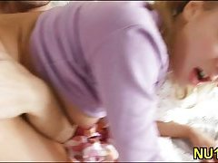 Slender pretty teen analed