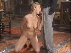 Pretty European girl has sexy anal sex