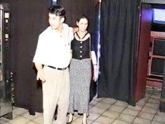 Preggy S&m gal fucked in sexshop
