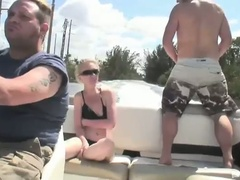 Sexually excited blonde bombshell scarlett summers outdoor fucking adventure