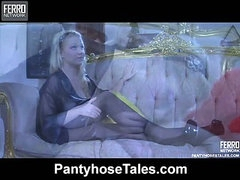 Ida A&Gideon naughty hose action