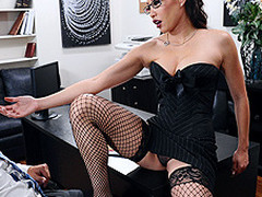 Miko Lee is one powerful and assured entrepreneur. When seemingly qualified Keiran Lee walks into the office for an interview, this playgirl didn't wait this chab would screech about her big love bra buddies in her face. After all, honesty is a great value. This Sweetheart makes a decision to prolong the interview, if merely this chab can fuck her real good.