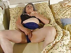 Although our granny is so old that this babe barely moves the fucking slut still needs to fuck. Cornel rubs her saggy vagina and then receives some help from her girl. She kisses these old wrinkled boobs and helps her undress so they can have some lesbian action. The whores desire to acquire dirty so why not watch them and enjoy