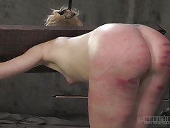 That consummate booty merited a good beating solely that the executor crossed the line and bruised it. Look at it how screwed up it is, would u like to fuck an booty like that? Of course u will, it's hotter! Sara is a blonde doxy that enjoys being spanked until her booty turns red and purple, wanna see what else that sweetheart likes?