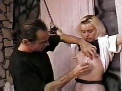 Punish a sexy slave gal