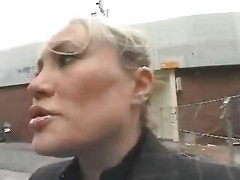 Young Guy Entice A Busty Mamma In The Street And Fuck Her