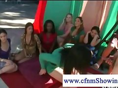 Girls love getting screwed CFNM