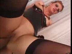 Whore in latex for wonderful anal sex