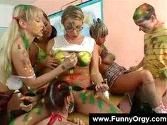 Painting teachers wish it artistic