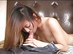 Luscious Kina Kai face hole bonks a hard knob