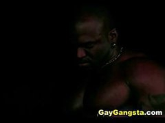 Ebony Homosexual guys Hardcore Group Anal Fuck