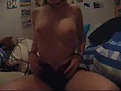 Hot hawt girlfriend cumming and loving every minute of it. She is so fucking hawt you might cum without even jerking