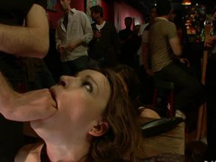 Hot pretty cutie fucked and dominated in real bondage!