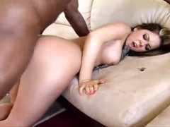 Awesome curvy slut fucked hard by black wang
