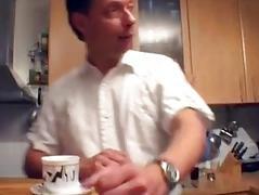 Sexy German MILF receives taken in the kitchen