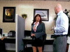 Boss Bonks His Secretary In The Office