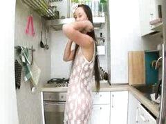 Evelina glamours kitchen cum on the unit
