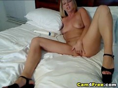Sexy Blonde Deep Masturbation HD