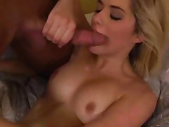 Sexual Lia Lor gets saturated with warm pecker juice