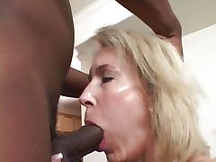 Tempting Erica Lauren acquires her slippery throat slammed