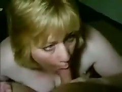 Mature busty woman kills guy, teasing his palpitating dong with her large wet mouth and lengthy soft tongue.