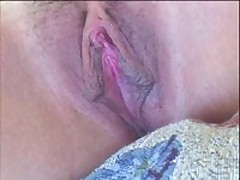 Sexy fuckable chick has nice pink bawdy cleft lips and a hawt clit. She moans as her bawdy cleft lips and clitoris get licked and sucked on close up. Makes you hot!