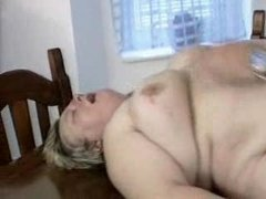 chubby german milf receives fucked